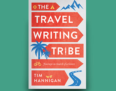 The Travel Writing Tribe, cover design Hurst publishers