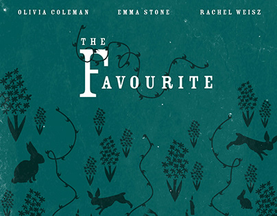 THE FAVOURITE Poster, Multipack, Parallax, Motion Title