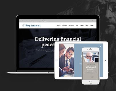 Tilney Bestinvest - Group Website Redesign