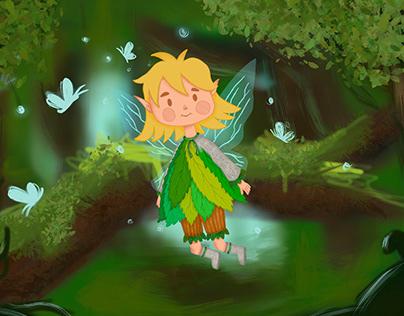 Character design | children illustration | Pixie