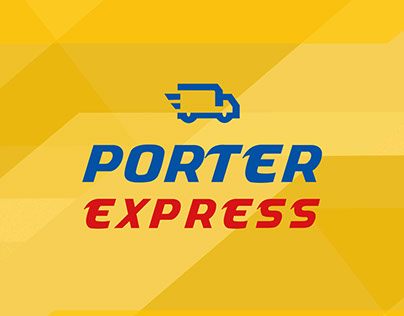 "Delivery service ""Porter Express"" - branding"