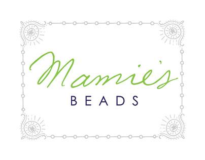 Mamie's Beads Logo & Branding