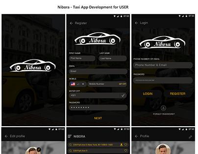Nibora - Taxi App Development Services