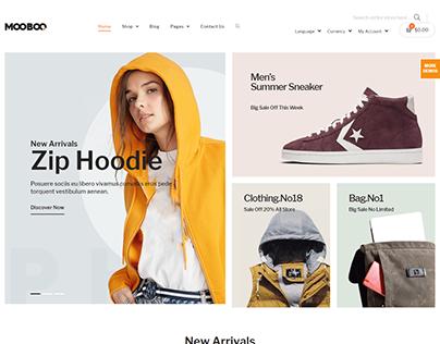 Wordpress - (Woocommerce | ecommerce | Woovina)