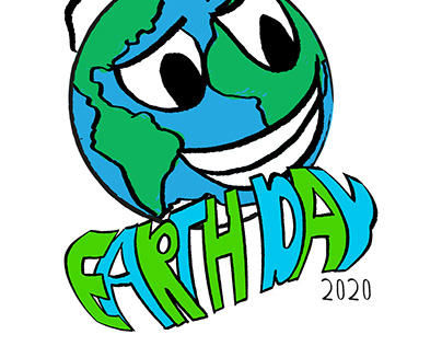 EARTH DAY EVERYDAY (2020)— ILLUSTRATION