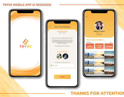 Mobile App UI Redesign.