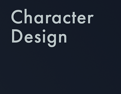 Character Design of Agency Team