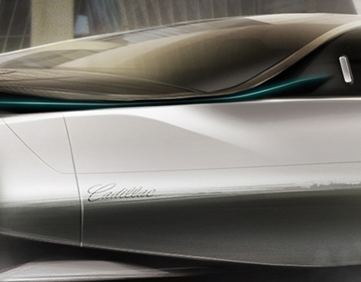 Cadillac Concept Luxury Sedan Design