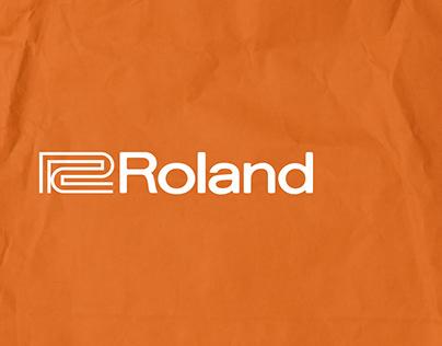Roland Corporation UX/UI concept 2020