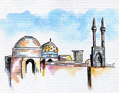 Travel Magazine Illustrations