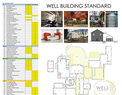 Design 6- Well Building Standard Poster: Smith House