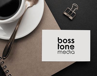 Design logo for BossTone Media