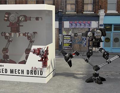 Mech Robot Animation