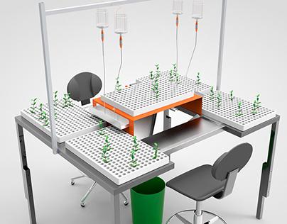 Work Station - R-design - Horticonnect