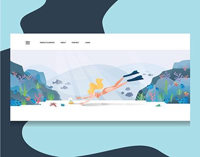 Landing Page Illustration - USAHEMP
