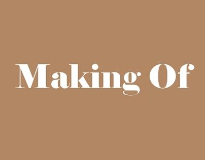 "Making of para o curta ""O Retrato"""