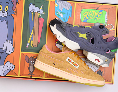 Tom and Jerry and Reebok