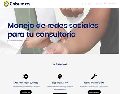 Diseño Web Cabumen.com