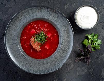 Food photography. Menu.