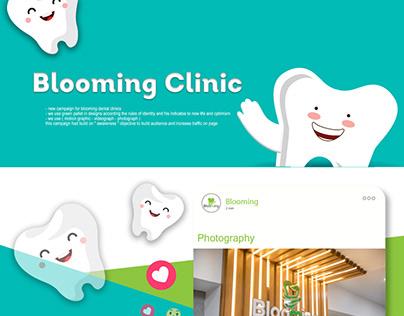 Social Media Project For Blooming Dental Center