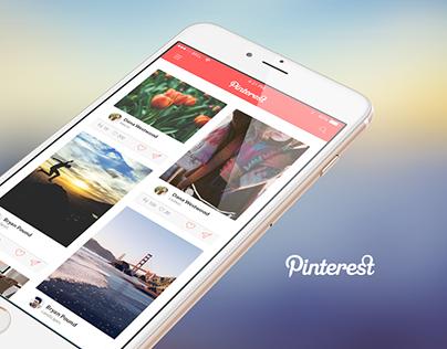 Pinterest UI Concept
