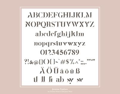 'Jemma' Typeface