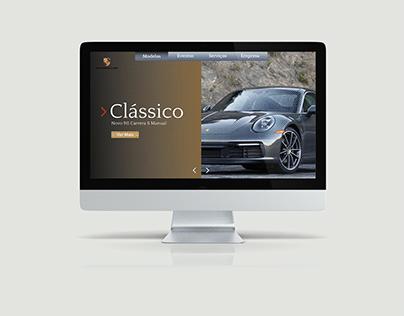 Porsche Web Design