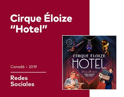 RRSS Cirque Éloize