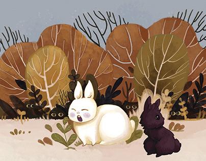 Too bunnies