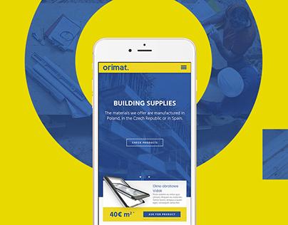 Orimat. - Branding, Web Design & Development