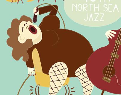 North Sea Jazz contest poster