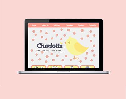 Charlotte - Website design