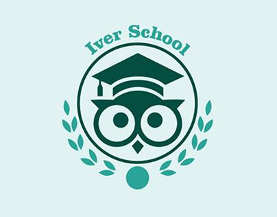 Iver school branding
