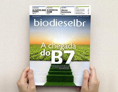 BiodieselBR magazine / Editorial Design - Illustration