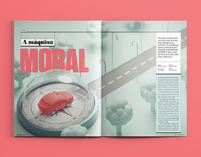 [Design editorial] A Máquina Moral