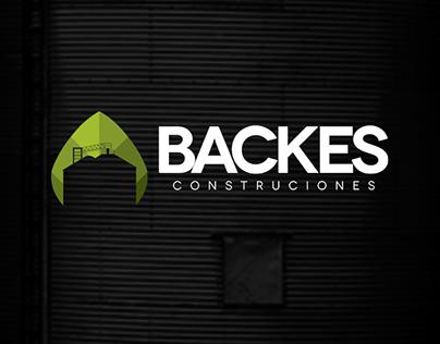 Identidade Visual Backes Construcciones