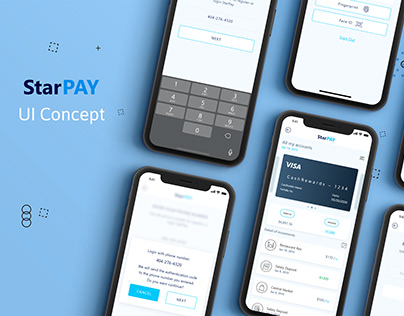 StarPAY UI Concept