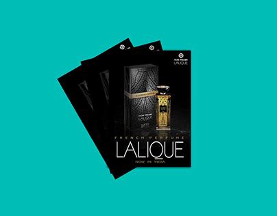 LALIQUE Pamphlet design