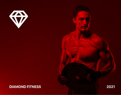 """Landing page for the """"Diamond"""" gym chain"""""""