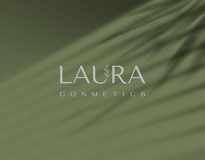 LAURA COSMETICS (LOGO DESIGN)
