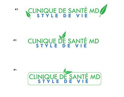 Clinique de Santé MD - Logo Design
