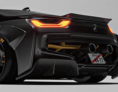 THE RAZORITE | BMW I8 CONCEPT