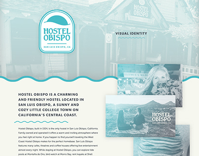 Hostel Obispo Visual Identity & Website