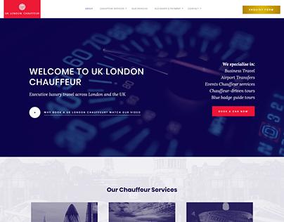 London Chauffeur Company Bespoke Website Design & Dev
