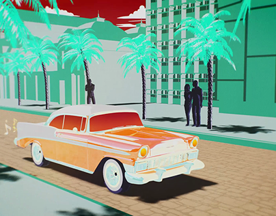Cuban Car Animation