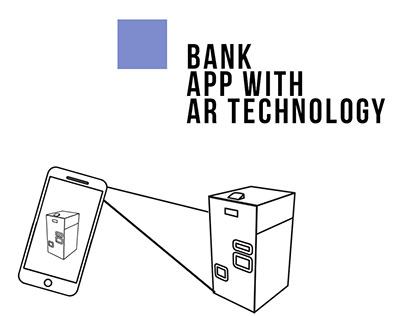 Bank app with AR
