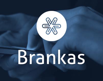 Brankas Logo and Website