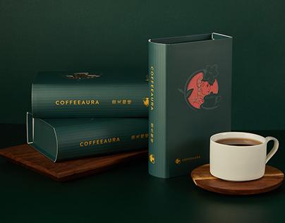 微光咖啡 擬人化配方 濾掛包|包裝設計