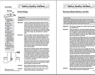 600-pg Teacher Manual for Kindercare