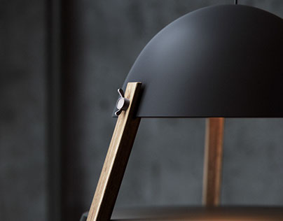 3D visualization of the lamp